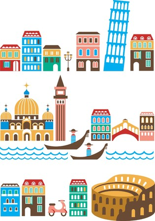 Italy - landmarks and attractions