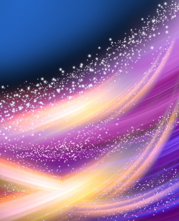 Photo pour Abstract glowing background with stars - image libre de droit