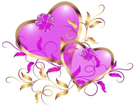 Illustration pour Day Valentine - image libre de droit