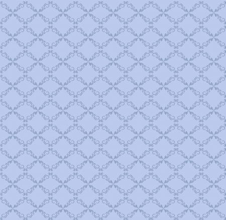 vector blue seamless abstract pattern