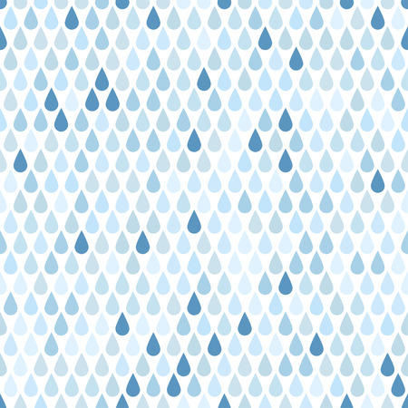 Seamless pattern with drops  Rain のイラスト素材