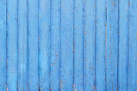 Photo pour Blue painted wood planks as background or texture - image libre de droit
