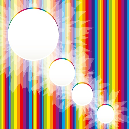 VECTOR Abstract Rainbow Background for Business Brochure or Cover , eps 10.0