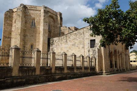 Photo for Dominican Republic Santo Domingo - Basilica Cathedral of Santa Maria la Menor - Royalty Free Image