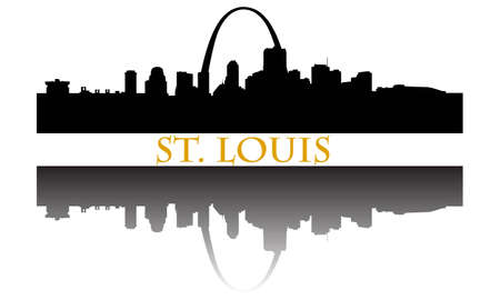 City of St. Louis high-rise buildings skyline