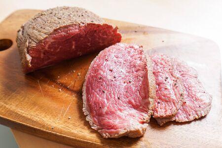 Photo pour handmade roast beef - image libre de droit