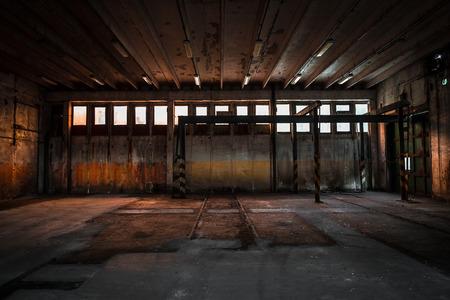 abandoned vehicle repair station