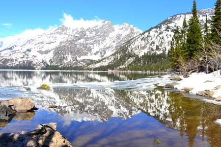 Magnificent Grand Teton, Jenny Lake, Wyoming, United States