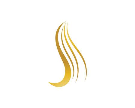 hair woman  logo and symbols