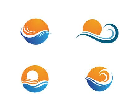 Illustration pour Sun symbols star icon web Vector - image libre de droit