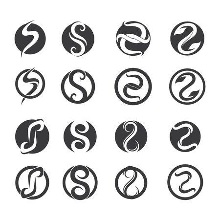 Illustration pour S logo and symbols template vector icons - image libre de droit