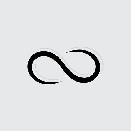Illustration pour Infinity Design Vector icon illustration Logo template design - image libre de droit
