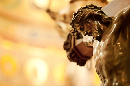 Close up of Jesus Christ crucified