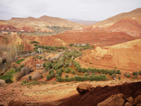 Dades gorge in the morning