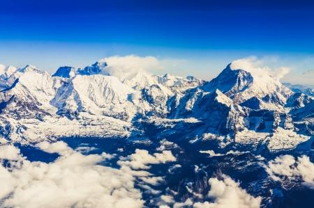 Mount Everest And Makalu