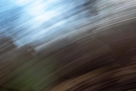 Photo pour lens motion blur natural in nature background. autumn colors abstract - image libre de droit