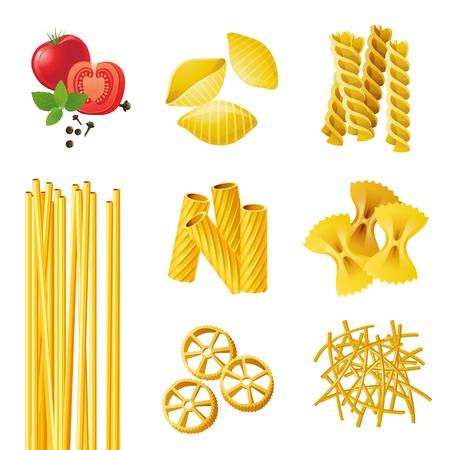 7 different pasta types