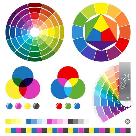 Color guides illustration