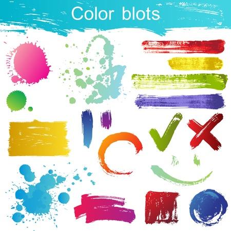Great set of color blots