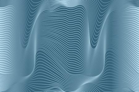 Ilustración de abstract wavy lines seamless pattern - Imagen libre de derechos