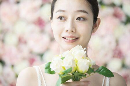 Foto de Skin Care,  Flower Background - Imagen libre de derechos