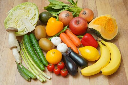 Photo for Vegetables and fruits - Royalty Free Image