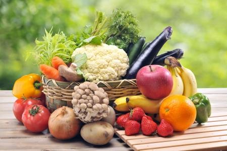 Foto für Fresh vegetables and Fruit - Lizenzfreies Bild