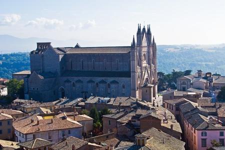 Foto per il duomo di Orvieto - Immagine Royalty Free