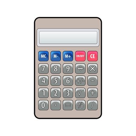 Cartoon calculator