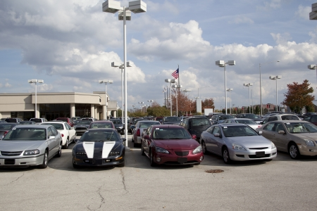 Auto Dealership vehicle lot