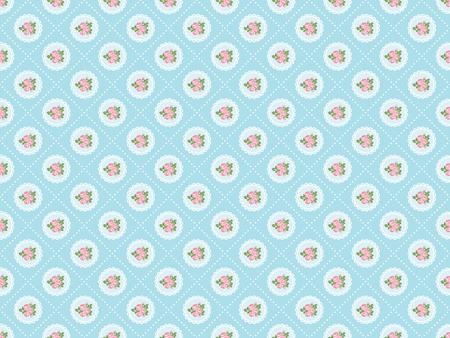 Photo pour Shabby chic rose seamless pattern background. illustartion. - image libre de droit