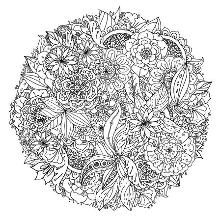 Flower Burst Mandala