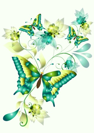butterflies for your design