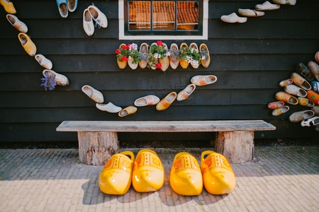 Wooden shoes. Netherlands Klompen Beauty
