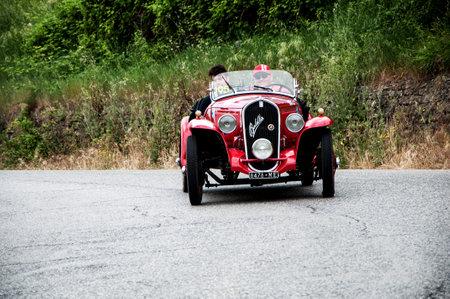 history race car mille miglia 2015 FIAT 508 S Coppa d Oro Balilla Sport 1934