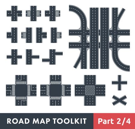 Road Map Toolkit. Part 2 of 4: Crossroads and Pedestrian Crossings