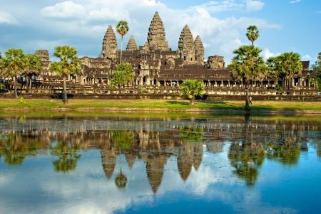 Angkor Wat Temple Siem reap Cambodia.