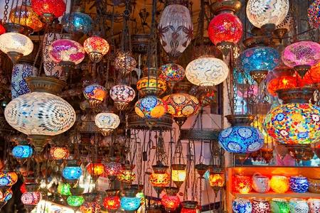 Grand bazaar shops in Istanbul. Turkey.
