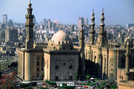 Panormaic view of Il Cairo  Egypt