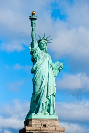 American symbol - Statue of Liberty. New York, USA.