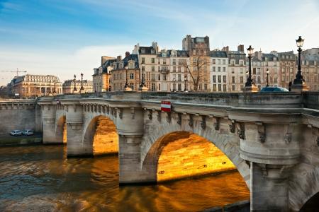 Pont neuf Ile de la Cite Paris - France
