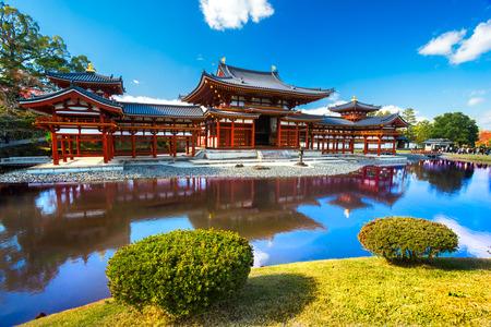 Photo pour Byodo-in Temple. Kyoto, Japan. - image libre de droit