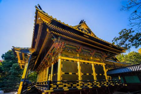 Tosho-Gu shrine in Ueno, Tokyo, Japan.
