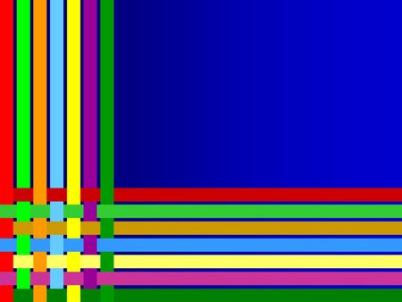background colorful lines weave