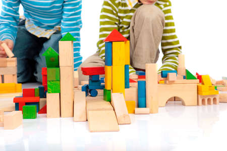Photo pour Toy blocks - image libre de droit
