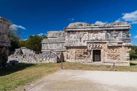 Building called Nunnery (Edificio de las Monjas) in the ancient Mayan city Chichen Itza, Mexico