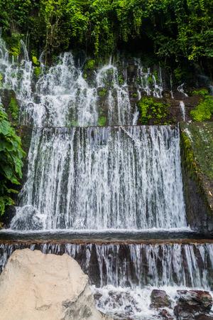 One of Chorros de la Calera, set of waterfalls near Juayua village, El Salvador
