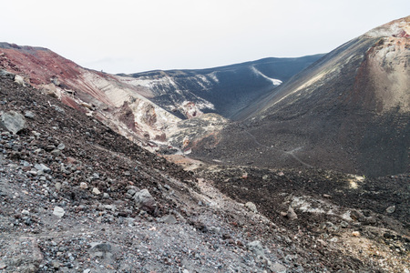 View of Cerro Negro volcano, Nicaragua