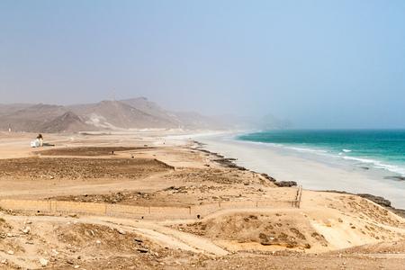 Photo pour Mughsail beach, Oman - image libre de droit
