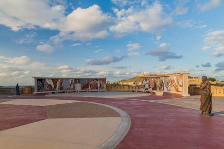 Foto für GOZO, MALTA - NOVEMBER 8, 2017: Grounds of the Basilica of the National Shrine of the Blessed Virgin of Ta' Pinu on the island of Gozo, Malta - Lizenzfreies Bild